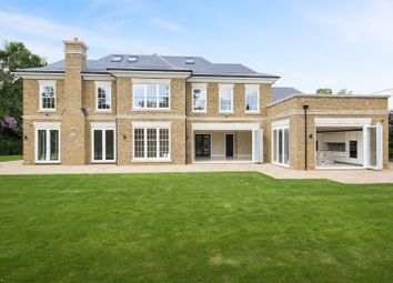 Thumbnail 7 bed detached house for sale in Farmleigh Grove, Burwood Park, Hersham, Walton-On-Thames