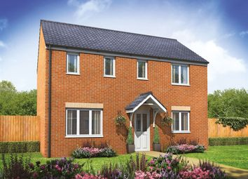 "Thumbnail 3 bed detached house for sale in ""The Clayton"" at Lime Avenue, Oulton, Lowestoft"