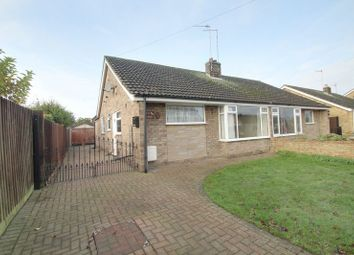 Thumbnail 3 bed bungalow for sale in Woburn Drive, Thorney, Peterborough