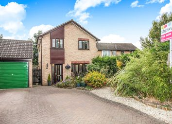 Thumbnail 4 bed detached house for sale in Peat Close, Rugby