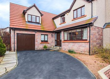 Thumbnail 4 bed detached house for sale in Meadowlands Avenue, Westhill