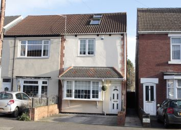 Thumbnail 4 bed semi-detached house for sale in Owston Road, Doncaster, South Yorkshire
