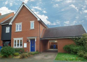 Thumbnail 2 bed link-detached house to rent in Demoiselle Crescent, Ipswich