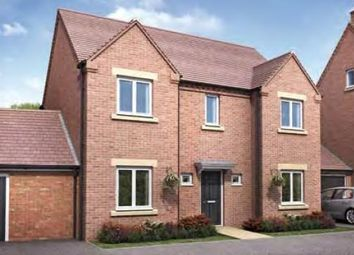 "Thumbnail 4 bed detached house for sale in ""The Montford"" at Darrall Road, Lawley Village, Telford"