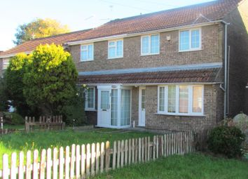 Thumbnail 3 bed semi-detached house to rent in Fonmon Park Road, Rhoose