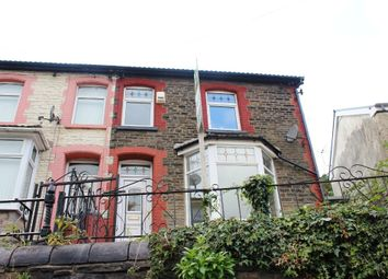 Thumbnail 4 bed end terrace house for sale in Aberrhondda Road, Porth