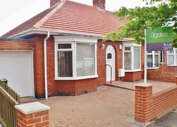 Thumbnail 3 bed bungalow to rent in Mount Grove, Sunderland