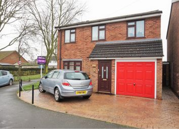 Thumbnail 3 bed detached house for sale in Bramble Drive, Newbold Verdon, Leicester