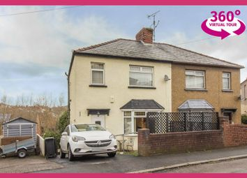 Thumbnail 3 bed semi-detached house for sale in Queens Close, Newport