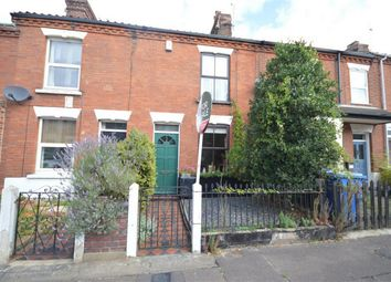 Thumbnail 2 bed terraced house for sale in Northcote Road, Norwich