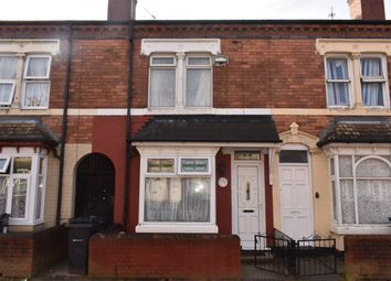 Thumbnail 3 bedroom terraced house for sale in Ashwin Road, Handsworth, Birmingham