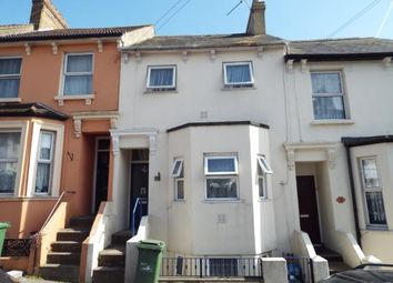 Thumbnail 3 bedroom terraced house for sale in Clarence Street, Folkestone, Kent, England