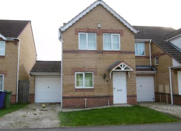 Thumbnail 3 bed semi-detached house for sale in Riverside Approach, Gainsborough