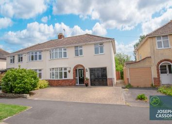 Thumbnail 4 bed semi-detached house for sale in Queenswood Road, Durleigh, Bridgwater