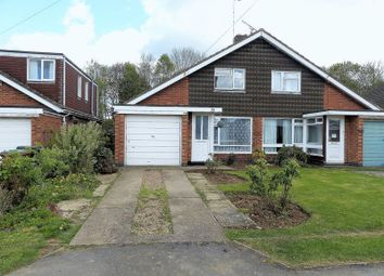 Thumbnail 2 bed semi-detached house for sale in Manor Road, Daventry