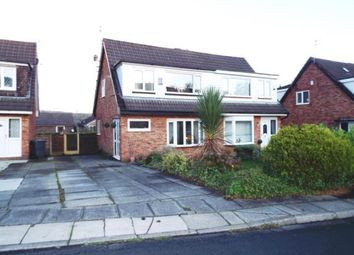 Thumbnail 3 bed semi-detached house for sale in Cromer Road, Bury, Greater Manchester