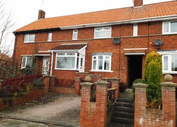Thumbnail 3 bed terraced house for sale in Postern Crescent, Morpeth