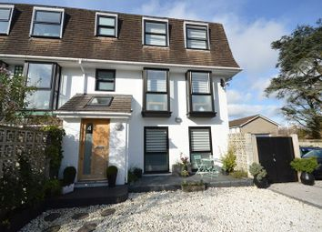Thumbnail 4 bed town house for sale in Winton Close, Lymington