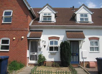 Thumbnail 1 bed terraced house to rent in Heron Road, Wisbech