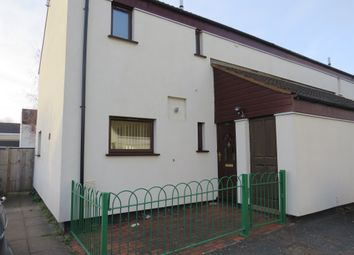 Thumbnail 3 bed end terrace house for sale in Crabtree, Paston, Peterborough
