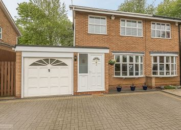 Thumbnail 3 bed semi-detached house for sale in Melbourne Close, Banbury