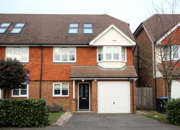 Thumbnail 5 bed semi-detached house for sale in Grange Road, New Haw, Surrey