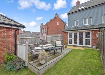 Thumbnail 4 bed semi-detached house for sale in Coleridge Crescent, Littlehampton, West Sussex
