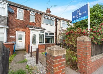 Thumbnail 2 bed terraced house for sale in Hedon Road, Hull