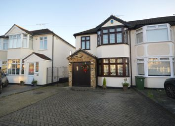 Thumbnail 3 bed end terrace house for sale in Amery Gardens, Gidea Park, Essex