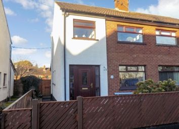 Thumbnail 3 bed semi-detached house for sale in Peel Gardens, Ballinderry Upper, Lisburn