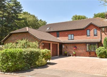 Thumbnail 5 bed detached house for sale in Ashdale Park, Finchampstead, Wokingham