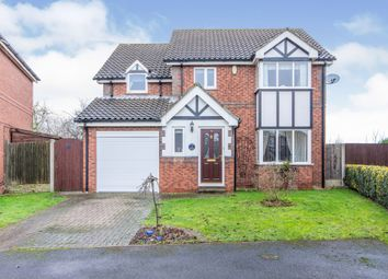 Thumbnail 4 bed detached house for sale in Church Field View, Balby, Doncaster