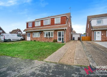 Thumbnail 3 bed semi-detached house for sale in Munnings Drive, Clacton-On-Sea, Essex
