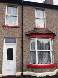 Thumbnail 3 bed terraced house to rent in Crescent Road, Rhyl, Debighshire