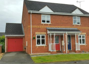 Thumbnail 2 bedroom semi-detached house for sale in Falaise Way, Hilton, Derby