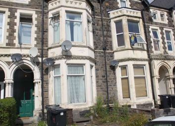 Thumbnail 1 bed flat to rent in Glynrhonnda Street, Cathays, Cardiff