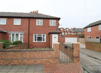 Thumbnail 3 bed end terrace house for sale in Gregory Road, Glasshoughton, Castleford, West Yorkshire