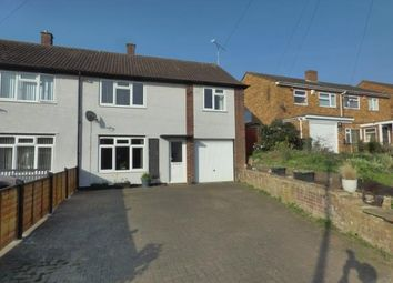 Thumbnail 4 bed semi-detached house for sale in Station Road, Bow Brickhill, Milton Keynes, Buckinghamshire