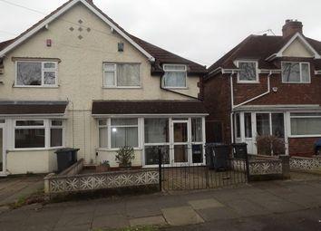 Thumbnail 2 bedroom semi-detached house for sale in Bleak Hill Road, Erdington, Birmingham