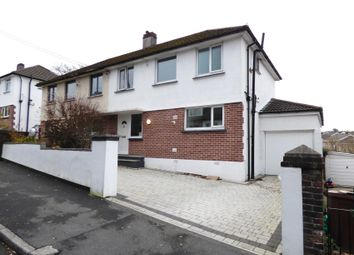 Thumbnail 3 bed semi-detached house for sale in Torridge Road, Plympton, Plymouth