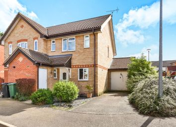 Thumbnail 3 bedroom end terrace house for sale in Brunswick Close, Toftwood, Dereham