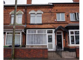 Thumbnail 3 bed terraced house for sale in The Broadway, Aston, Birmingham