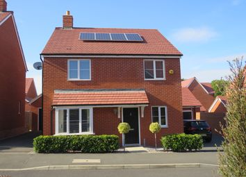 Thumbnail 4 bed detached house for sale in Ellis Way, Northampton