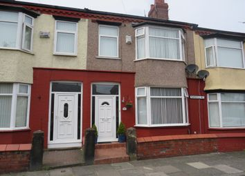 Thumbnail 3 bed terraced house for sale in Parkhill Road, Birkenhead