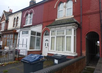 Thumbnail 3 bed terraced house to rent in Aston Lane, Handsworth, Birmingham