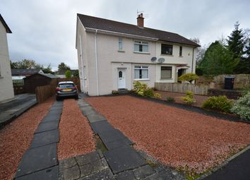 Thumbnail 3 bed semi-detached house for sale in Loanhill Avenue, Mauchline