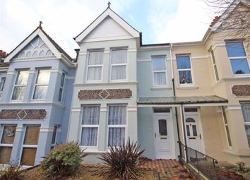 Thumbnail 2 bed terraced house for sale in Edgcumbe Park Road, Peverell, Plymouth