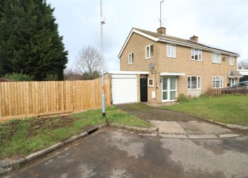 Thumbnail 3 bed semi-detached house for sale in Haddon Close, Rushden