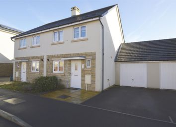 Thumbnail 3 bed semi-detached house for sale in Woodpecker Avenue, Midsomer Norton, Radstock