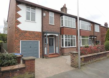 Thumbnail 3 bed semi-detached house for sale in Fortescue Road, Offerton, Stockport